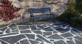 Ardoises des Pyrénées : décoration extérieure