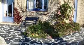 Ardoises décoration extérieur