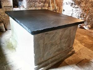 Ardoises décoration intérieure extraites et façonnées en France